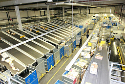 Maribor mail sorting and logistic centre mala